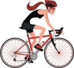 Cycling,Bicycle,Women,Teenage Girls,Riding,Cycle,Sport,Vector,Sports Race,Ilustration,Mountain Bike,Competition,Profile View,Exercising,Wheel,Characters,Speed,Relaxation Exercise,Sports Training,Professional Sport,Outdoors,Bicycle Gear,Spoke,Handlebar,Clip Art,Transportation,Sports Helmet,Mode of Transport,Competitive Sport,Ten-speed Bicycle