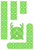 Celtic Culture,Frame,Irish Culture,Pattern,Design,Medieval,Seamless,Decoration,Symbol,Ornate,Vector,Angle,Green Color,Set,Sign,Part Of,Computer Graphic,Isolated,Drawing - Art Product,Curve,Posing,Circle,Old,Ilustration,Image,Outline,Vector Backgrounds,template,Retro Revival,Illustrations And Vector Art,Abstract,Vector Ornaments