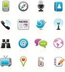 Symbol,Computer Icon,Icon Set,Telephone,Newspaper,Internet,The Media,Compass,Mobile Phone,E-Mail,Communication,Television Set,Discussion,Microphone,comment,Earth,Binoculars,Globe - Man Made Object,Podcast,Interface Icons,Straight Pin,Global Communications,Vector,Tower,Do Not Disturb Sign,Blog,Planet - Space,Radio Wave,No People,White Background,Address Book,Isolated,Vector Icons,Technology,Communications Technology,Illustrations And Vector Art,Concepts And Ideas,Communication