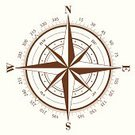 Compass Rose,Compass,North,Symbol,Scale,Vector,Direction,Arrow Symbol,Degree,Brown,South,Single Object,Isolated On White,East,Isolated,West - Direction,White,Shape,Star Shape,White Background,Ilustration