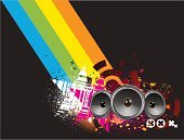 Funky,Retro Revival,Speaker,Design Element,Backgrounds,Music,Party - Social Event,Design,Computer Graphic,Grunge,Urban Scene,Abstract,Vector,Fun,Black Color,Art,Flower,Color Image,Cool,Shape,Pattern,Sound,Concepts,Modern,Decoration,Star Shape,Concepts And Ideas,Arts And Entertainment,Holidays And Celebrations,Style,Beauty,Part Of,Ilustration,Shiny