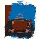 Coffee - Drink,Coffee Cup,Cup,Backgrounds,Grunge,Mug,Modern,Brown,Blue,Computer Graphic,Textured Effect,Heat - Temperature,Distressed,Sparse,Design Element,Vector,Weathered,Line Art,Clip Art,Digitally Generated Image,Drink,Ilustration,Damaged,Liquid,Copy Space,Food And Drink,Illustrations And Vector Art,Isolated Objects,Drinks,Vector Backgrounds