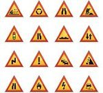 Road Sign,Accident,Traffic,Symbol,Speed Bump Sign,Rock - Object,Yield Sign,Crash,Fire - Natural Phenomenon,Computer Icon,Shovel,Construction Industry,Icon Set,Semaphore Flag,Traffic Lanes Sign,Cartoon,Three-dimensional Shape,Mountain,Vector,Lane,Ilustration,Road Warning Sign,Double Bend Sign,Design Element,Roundabout Sign,Curve,Color Gradient,Color Image,Isolated On White,Illustrations And Vector Art,Yellow,Flame,Satin,Electricity,Shiny