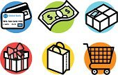 Shopping,Shopping Cart,Cart,Currency,Symbol,Credit Card,Computer Icon,One Dollar Bill,US Paper Currency,Gift,Store,Vector,Bag,E-commerce,Checkout,Finance,Icon Set,Box - Container,Cute,Shopping Bag,Clip Art,Paper Currency,Ilustration,Retail,Package,Dollar Sign,Buying,Gift Box,Sales Occupation,Home Finances,Bow,Group of Objects,Bow,Set,Consumerism,Freight Transportation,Ribbon,Business,Business Concepts,Business,Illustrations And Vector Art
