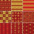 Christmas,Christmas Paper,Pattern,Seamless,Backgrounds,Retro Revival,Symbol,Old-fashioned,Wrapping Paper,Striped,Snowflake,Design,Cultures,Collection,Set,Snow,Decoration,Square,Square Shape,Vector,Berry,Season,Holiday,Christmas Decoration,Red,seamless background,tile background,Christmas,Holidays And Celebrations,Repeating Background,Wallpaper Pattern,seamless wallpaper,Gold Colored,Holiday Backgrounds,Traditional Holiday,Repeating Tile,Illustrations And Vector Art,Vector Backgrounds,Star Shape,Winter