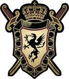 Fantasy,Badge,Military,Sign,Coat Of Arms,Crown,Tattoo,Nobility,Lion - Feline,Shield,Eagle - Bird,Insignia,kingdom,Sword,Throne,heraldic,Vector,Symbol,Griffin,Old-fashioned,Medieval,Religion,War,Spirituality,Sovereignty,Decoration,Ilustration,Medal,Unity,Power,Part Of,Coat,Classic,Emperor,Medallion,Majestic,Ornate,Leadership,Vector Icons,Arts Symbols,Single Object,Royal Person,Religion,Imagination,Illustrations And Vector Art,Shape,History,Decor,Concepts And Ideas,Arts And Entertainment