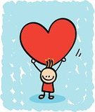 Heart Shape,Child,Little Boys,Cartoon,Valentine's Day - Holiday,Love,Drawing - Art Product,Sketch,Love At First Sight,Cheerful,Happiness,Child's Drawing,One Person,Loving,Doodle,Smiling,Ilustration,Shape,Pencil Drawing,Image,Lifestyle,Carrying,Vector,Looking At Camera,Weddings,Babies And Children,Color Image,Looking,Holidays And Celebrations,Standing,Valentine's Day,Engagement