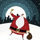 Santa Claus,Christmas,City,Snow,Urban Scene,Silhouette,Humor,Gift,Cartoon,Holiday,Vector,Night,Urban Skyline,Invitation,Singing,Cultures,Backgrounds,Bell,Creativity,Sound,Ilustration,Moon,Sack,Cheerful,Winter,Fun,Cool,Large,Overweight,Glamour,Characters,Moving Toward,Happiness,Skyscraper,Sayings,Advice,Cold - Termperature,Illustrations And Vector Art,Outdoors,Snowing,Christmas,Copy Space,Shaking,Holiday Symbols,Ice,Snowflake,Holidays And Celebrations,Joy,December,Red,Santa Hat,jingle bell,Frost