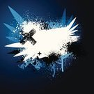 Artificial Wing,Wing,Dirty,Grunge,Blue,Backgrounds,Halftone Pattern,Black Color,Spray,Abstract,Backdrop,Textured,Design,Digitally Generated Image,Design Element,Brushed,Modern,Vector Backgrounds,Wallpaper Pattern,Vector,Illustrations And Vector Art,Splattered,Copy Space,Ilustration,White