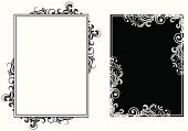 Black Color,Elegance,White,Ornate,Pattern,Old-fashioned,Angle,Spiral,Backgrounds,Vector,Floral Pattern,Modern,Scroll Shape,Curled Up,Swirl,Decoration,Curve,Leaf,No People,Painted Image,Vector Backgrounds,Ilustration,Illustrations And Vector Art,Image,Vector Ornaments,Art,Shape,Composition,Vector Florals