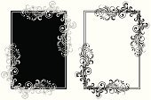 White,Black Color,Scroll Shape,Backgrounds,Floral Pattern,Elegance,Swirl,Pattern,Decoration,Angle,Leaf,Ornate,Old-fashioned,Curve,Modern,Ilustration,Vector Florals,Spiral,Vector,Shape,Vector Ornaments,Curled Up,Composition,Art,No People,Image,Illustrations And Vector Art,Vector Backgrounds,Painted Image