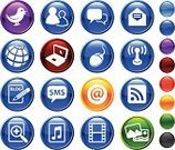 Social Gathering,Symbol,The Media,Information Medium,Computer Icon,Icon Set,Communication,Computer Network,Internet,Text Messaging,Technology,Computer,Connection,E-Mail,Music,Global Communications,Profile View,Voice,Computer Mouse,Sparse,Mail,Text Message,Modern,Wireless Technology,Answering Machine,Globe - Man Made Object,Bird,Searching,rss,Page,Talking,Heart Shape,Laptop,Discussion,Musical Note,Gossip,Singing,Group Of People,Communication Problems,Group of Objects,Togetherness,Wing,Photographing,Pencil,Planet - Space,Sphere,Photography Themes,sma,Camera Film,Correspondence