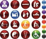 Physical Therapy,Symbol,Massaging,Computer Icon,Chiropractic Adjustment,Chiropractor,Acupuncture,Icon Set,Healthcare And Medicine,Pain,Massage Therapist,Doctor,Massage Chair,Wheelchair,Caduceus,Reflexology,Massage Table,Walker,Walking,Medicine,Acupuncture Needle,Crutch,Yin Yang Symbol,Exercise Bike,Black Color,Moxa,Cane,Surgical Needle,Red,Snake,Green Color,Orange Color,Blue,Reflection,White Background,lower back,Medial Rotation,Lateral Rotation