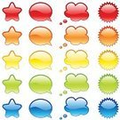 Web Page,Interface Icons,Push Button,Internet,Symbol,Bubble,Computer Icon,Glass - Material,Direction,Design,Shiny,Star Shape,Design Element,Multiple Exposure,Balloon,Blank,Colors,Communication,Blue,Sea,Simplicity,Red,Computer Graphic,Circle,Yellow,Set,Orange Color,Green Color,Style,Color Gradient,editable,Decoration,Sign,Vector,Sparse,Isolated,Empty,Variation,Ilustration,Bright