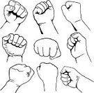 Fist,Punching,Vector,Human Hand,Martial Arts,Labor Union,Unity,Freedom,Clip Art,Revolution,Ilustration,Icon Set,Strength,Vector Icons,Illustrations And Vector Art