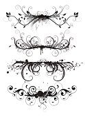 Scroll Shape,Ornate,Grunge,Scroll,Frame,Flower,Black Color,Swirl,Pattern,Design,Vector,Graffiti,Set,Design Element,Abstract,Backgrounds,Art,Elegance,Leaf,Decoration,Computer Graphic,Nature,Plant,Old-fashioned,Retro Revival,Ilustration,Curve,Shape,Style,Vignette,Branch,Classical Style,Arts And Entertainment,Holidays And Celebrations,Concepts And Ideas,Part Of,Collection,Silhouette,Wood Stain