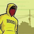 Hooligan,Gangster,Hood,Video Game,Gang Member,Cartoon,Bandana,Drug Dealer,Criminal,Vector,Villain,Silhouette,Mask,Miami - Florida,African Descent,Residential District,Suburb,Backgrounds,Poster,Jacket,Ilustration,Sunset,Small Town America,Concepts And Ideas,Arts And Entertainment,Illustrations And Vector Art,Dusk