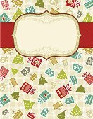 Gift,Christmas,Label,Box - Container,Frame,Backgrounds,Ornate,Holiday,Tree,Shape,Vector,Christmas Tree,Christmas Present,Christmas Ornament,Christmas Decoration,Red,Snowflake,Design,Design Element,Snow,Paint,Computer Graphic,Winter,Bell,Abstract,Greeting,Star Shape,Beige,Decoration,Ilustration,Color Image,Christmas,Holiday Backgrounds,Holidays And Celebrations,New Year's,Alder Tree,Celebration,Pine Tree,stylization