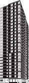 Skyscraper,Built Structure,Vector,Apartment,Silhouette,Building Exterior,Ilustration,Black Color,City,Urban Scene,Office Building,Architecture,Tall,Black And White,City Life,Design,Isolated On White,Human Settlement,Clip Art,Computer Graphic,White Background,Geometric Shape,Modern,Digitally Generated Image