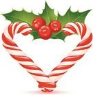 Heart Shape,Christmas,Candy Cane,Shape,Holly,Winter,Advent,Leaf,Love,Vector,Humor,Striped,Green Color,Gold Colored,New Year's Day,Red,Berry,Design Element,Berry Fruit,Catholicism,Vibrant Color,Holiday,Vector Icons,Christmas,Bunch,Holidays And Celebrations,White Background,Illustrations And Vector Art,Holiday Symbols,Isolated,Thorn