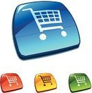 E-commerce,Shopping Cart,Sign,Internet,Symbol,Blue,Computer Icon,Clip Art,Business,Retail,Shiny,Interface Icons,Vector,Yellow,Red,Business Symbols/Metaphors,Business,Green Color,Isolated,Illustrations And Vector Art,Colors,Color Image,Multi Colored,Ilustration,Vector Icons