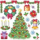 Christmas,Christmas Tree,Tree,Wreath,Advent,Symbol,Christmas Ornament,Christmas Decoration,Vector,Set,Holly,Design Element,Candle,Ilustration,Poinsettia,Icon Set,Candid,Mistletoe,Label,Clip Art,Green Color,Group of Objects,Gift,Cultures,Decoration,Christmas Present,Holiday,Box - Container,Shiny,Christmas Icons,Candy,Package,Holly Leaves,Shadow,Series,Bow,Red,Shade,holly berry,Color Image,Multi Colored,Bell,Advent Wreath