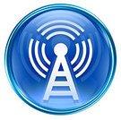 Wireless Technology,Symbol,Radio,Tower,Interface Icons,Computer Icon,Blue,Wave Pattern,Communications Tower,Circle,Computer Graphic,Isolated,No People,Style,Glass - Material,Technology,Single Object,Turquoise,White,Ilustration,Antenna - Aerial,Design,Digitally Generated Image,Reflection,Reflexion,Isolated On White,Shadow,render,Elegance,Isolated Objects,Isolated-Background Objects,Wi-fi Tower,Sphere,Shiny