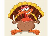 Thanksgiving,Bird,Cartoon,Vector,Fun,Smiling,Mascot,Clip Art,Happiness,Food,Image,Design,Table Knife,Feather,Cool,Animal,Computer Graphic,Fork,Birds,Holidays And Celebrations,Standing,Thanksgiving,Animals And Pets,Illustrations And Vector Art,Vector Cartoons,Autumn,Holiday,Ilustration,Celebration,Cute
