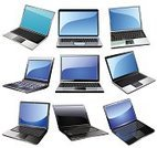 Laptop,Vector,Computer,Isolated,Retail Display,Equipment,Electronics Industry,White,Mobility,Blue,Computer Icon,Liquid-Crystal Display,Illustrations And Vector Art,Isolated Objects,Vector Icons,Vector Cartoons,Technology,Colors,Information Medium,Ilustration,Color Image,Black Color,Shiny