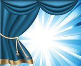 Curtain,Stage Theater,Catwalk - Stage,Spotlight,Blue,Backgrounds,Open,Gold Colored,Rope,Premiere,Backdrop,Gift,Heavy,Bright,Velvet,Light - Natural Phenomenon,Spotted,Long,Ilustration,Opera,Vibrant Color,Textile,Vector Backgrounds,Illustrations And Vector Art,Arts And Entertainment,Theatre,Arts Backgrounds