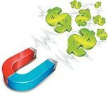 Magnet,Currency,Dollar Sign,Charity and Relief Work,Picking Up,Symbol,Collection,Large Group of Objects,Sign,Green Color,Blue,Horseshoe,Red,Ideas,Action,Business,Concepts,Finance,Strength,Vector,Currency Symbol,Wealth,White,Ilustration,Equipment,Business Concepts,Isolated Objects,Isolated-Background Objects,Business Symbols/Metaphors,Direction,Isolated,Business,Full