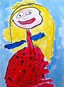 Child's Drawing,Child,Drawing - Art Product,Paintings,Childhood,Painted Image,Art,Princess,Photograph,Sketch,Abstract,White,Women,Ilustration,Paint,Creativity,Image,Cute,The Human Body,Humor,Photography,Smiling,Happiness,freehand,Lifestyle,Color Image,Vertical,Arts And Entertainment,Decoration,Industry,Education,Babies And Children,Fun,Paper,Multi Colored