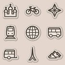 Eiffel Tower,Symbol,Bicycle,Mobile Home,Computer Icon,Paris - France,Travel,Tower,Label,Train,Russia,Icon Set,Railroad Track,Bus,Sign,piramid,Earth,Vehicle Trailer,Iconset,Vacations,Church,Planet - Space,Transportation,Globe - Man Made Object,Dotted Line,Connection,People Traveling,Interface Icons,Brown,Sticky,Technology Symbols/Metaphors,Illustrations And Vector Art,Vector Icons,Technology,Business Travel