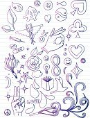 Doodle,Sketch,Book,Healthcare And Medicine,Symbols Of Peace,Love,Rose - Flower,Pen And Marker,Smiley Face,Heart Suit,Drawing - Art Product,Caduceus,Smoke - Physical Structure,Clover,Peace Sign,Pencil Drawing,Spade Suit,Star Shape,Herbal Medicine,Ilustration,Medicine And Science,Young Adults,Lifestyle,Illustrations And Vector Art,Lined Paper,Pen And Ink