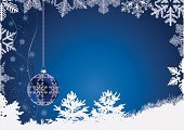 Snow,Christmas,Decoration,New Year's,Winter,Holidays And Celebrations,Backgrounds,Vector,Celebration,Ilustration,Blue