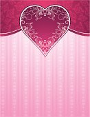 Valentine's Day - Holiday,Pink Color,Backgrounds,Heart Shape,Love,Rose - Flower,Pattern,Vector,Romance,Flower,Ornate,Beautiful,Ilustration,Color Image,Symbol,Decoration,Valentine's Day,Clip Art,Weddings,Holiday,Holiday Backgrounds,Design Element,Computer Graphic,Design,stylization,Holidays And Celebrations,Classical Style