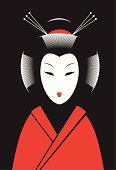 Japan,Geisha,Kabuki,Vector,Asian Ethnicity,Cartoon,Art,Women,Human Face,Geisha in Training,Mask,People,Kimono,Asia,East Asian Culture,Theatrical Performance,Black Color,Fashion,Human Hair,White,Decoration,Red,Mystery,Individuality,Obi Sash,Clothing,One Person,Cultures,Headdress,Female,Traditional Clothing,Human Head,Wig,Ilustration,Performer,Beautiful,Colors,Arts And Entertainment,Stage Costume,Illustrations And Vector Art,People,Theatre