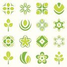Tree,Leaf,Symbol,Computer Icon,Flower,Green Color,Icon Set,Vector,Design Element,Ilustration,Part Of,Illustrations And Vector Art