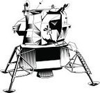 Lunar Module,Space,Moon Buggy,Space Exploration,Space Travel Vehicle,Silhouette,Science and Technology,Vector,Science,Digitally Generated Image,Clip Art,Information Medium,Ilustration,Close-up,White Background,Computer Graphic,Black And White,Weather,Black Color,Exploration,Isolated On White,Technology,Global Communications,Data,Positioning,Discovery,Telecommunications Equipment