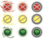 Stoplight,Interface Icons,Push Button,Vector,Icon Set,Green Color,Glowing,Red,Yellow,Illustrations And Vector Art,Circle,Isolated Objects,Vector Ornaments,Ilustration,Objects with Clipping Paths,Vector Icons,Arrow Symbol,Frame,Computer Icon,Curve