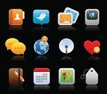 Symbol,Icon Set,Map,The Media,Calendar,Black Color,Straight Pin,Set,Internet,Communication,Heart Shape,Text Messaging,Direction,Broadcasting,favorites,Business,Global Communications,Globe - Man Made Object,Vector,Mail,Photography,Label,Dog Tag,Note Pad,Secrecy,Image,Computer Graphic,Privacy,Radio Wave,Letter,Isolated,Earth,Address Book,Pencil,Reflection,Internet Icon