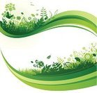 Environment,Nature,Banner,Vector,Green Color,Grass,Design Element,Flower,Backgrounds,Leaf,Springtime,Pattern,Floral Pattern,Environmental Conservation,Plant,Butterfly - Insect,footer,Ilustration,Growth,Vitality,Freshness,Wave Pattern,No People,Part Of,Vibrant Color,Vector Backgrounds,Illustrations And Vector Art,Vector Florals