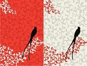 Asian Ethnicity,Wedding Invitation,East Asian Culture,Pattern,Bird,Floral Pattern,Asia,Backgrounds,Design,Art,Vector,Vine,Banner,Scroll,Scroll,Scroll Shape,Feather,Valentine Card,Winter,Branch,Valentine's Day - Holiday,Holiday,Design Element,Placard,Computer Graphic,Silhouette,Springtime,Animal,Wing,Digitally Generated Image,Love,Leaf,Nature,Black Color,Decoration,Ilustration,Curve,Flying,Season,Copy Space,Image,Vector Backgrounds,Decor,Illustrations And Vector Art,Vector Ornaments