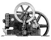 Invention,Image Created 19th Century,Automated,Machinery,Plan,Ilustration,Technology,Innovation,White Background,Gear,Engineering,Food Processing Plant,Machine Part,Work Tool,Engineer,Skill,Wheel,Image,Metal,Conspiracy,Black And White,Industry,Food And Drink,Steel,Equipment,Technology,Food And Drink Industry,Clip Art,Cut Out,Metallic,Isolated On White,Occupation,Manufacturing,Manufacturing,Industry,Objects/Equipment,Working,High Contrast,Science,Mechanic,Line Art,Industrial Objects/Equipment,Studio Shot
