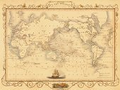 Map,World Map,Globe - Man Made Object,Old,Cartography,Old-fashioned,Antique,Retro Revival,Frame,Sea,Politics,History,Travel,Ornate,Paper,Image Created 19th Century,International Border,Picture Frame,Direction,Ilustration,Document,Physical Geography,Topography,Journey,Island,People Traveling,No People,Decoration,Government,1940-1980 Retro-Styled Imagery,Close-up,continents,Single Object,Jewish Prayer Shawl,Macro,Color Image,Vignette,Studio Shot,Visual Art,Travel Locations,uk map,Illustrations And Vector Art,Arts And Entertainment