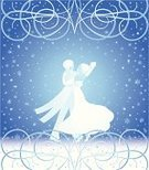 Dancing,Ballroom Dancing,Prom,Waltzing,Snow,Couple,Heterosexual Couple,Fairy Tale,Women,Snowflake,Tango,Night,Men,Elegance,Romance,New Year's Eve,Holiday,Dance Floor,Evening Gown,Dress,White,Blue,Celebration,Tangoing,Vector,Routine,Love,Embracing,Ilustration,Dating,Coat,Suit,Emotion,Arts And Entertainment,Flirting,Tail Coat,New Year's Day,People,Style,Dance,New Year,Holidays And Celebrations,I Love You,Passion