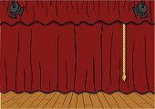 Curtain,Catwalk - Stage,Theatrical Performance,Stage Theater,Hardwood Floor,Spotlight,Red,Vector,Backdrop,Theatre,Vector Cartoons,Arts And Entertainment,Illustrations And Vector Art,Backgrounds,Entertainment,Ilustration