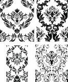 Silk,Pattern,Flower,Floral Pattern,Baroque Style,Seamless,Victorian Style,Silk,Symbol,Venice - Italy,Old-fashioned,Ornate,Vector,Retro Revival,Nobility,Backgrounds,Repetition,Antique,Silhouette,Lush Foliage,Ilustration,Textile,Set,Wallpaper Pattern,Collection,Growth,Abstract,Old,Leaf,1940-1980 Retro-Styled Imagery,Renaissance,Curve,Bush,foliagé,Decoration,Illustrations And Vector Art,Vector Backgrounds,Vector Florals,Vector Ornaments,Outline,Decor,Woven,Architectural Revivalism,Obsolete,Textile Industry