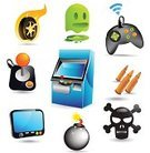 Symbol,Leisure Games,Sport,Arcade,Computer Icon,Video Game,Icon Set,Joystick,Control,Retro Revival,Handheld Video Game,Bullet,Speed,Keypad,Push Button,Interface Icons,Bomb,Human Skull,Entertainment,Violence,Palmtop,Fire - Natural Phenomenon,Exploding,Danger,Detonator,Wireless Technology,Rivalry,Technology,Wheel,Death,Flame,Motorsport,Fuse,Warning Sign,Bombing,Destruction,Warning Symbol,Technology,Personal Data Assistant,Isolated Objects,Environmental Damage,Game Pad,Electronic Organizer,Igniting,Vector Icons,Illustrations And Vector Art,Sports Race