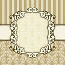 Victorian Style,Label,Banner,Pattern,Retro Revival,Old-fashioned,Backgrounds,Seamless,Ornate,Striped,Elegance,Placard,Rococo Style,1940-1980 Retro-Styled Imagery,Floral Pattern,Vector,tillable,Vector Florals,Vector Backgrounds,Wallpaper Pattern,Concepts And Ideas,seamless wallpaper,Illustrations And Vector Art,Communication